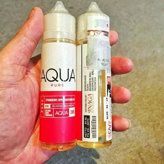 Aqua Pure Liquid Vapor Photo
