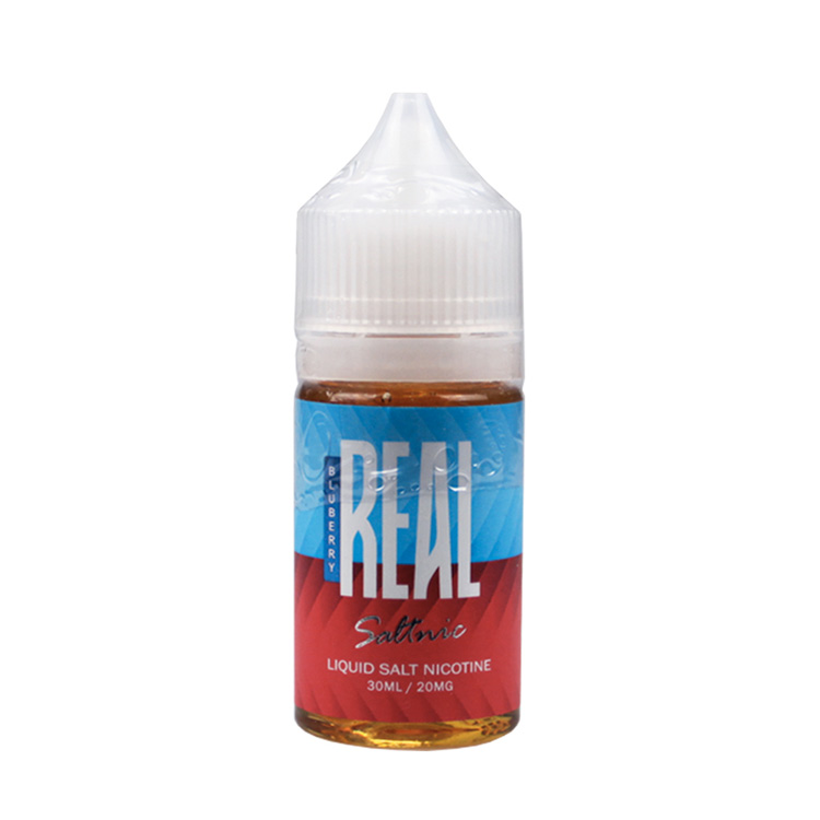 Real Salt Nic Blueberry E-Liquid