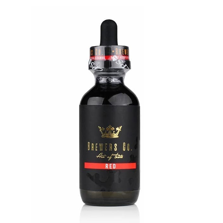 Red Liquid Vape By Brewers.co