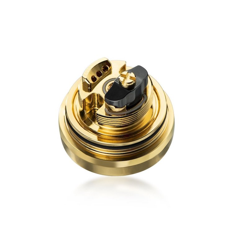 DOTMOD MTL RTA Authentic Gold Deck