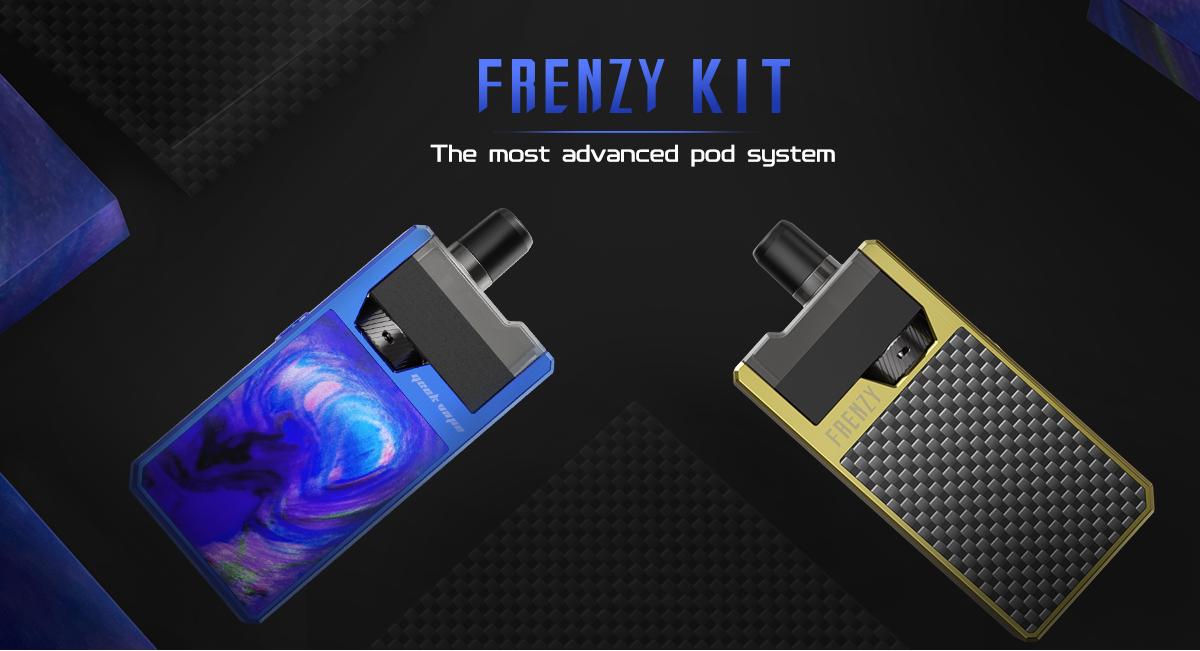 GEEKVAPE Frenzy Pod System Kit Banner