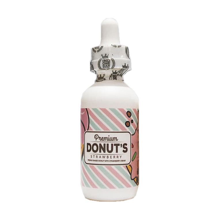Premium Donuts Strawberry Nic 3 & 6 mg