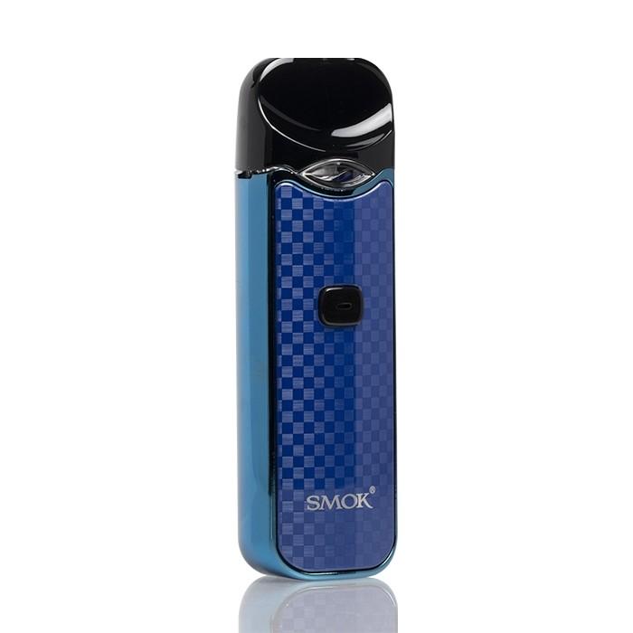 SMOK Nord Pod System Blue Carbon Fiber