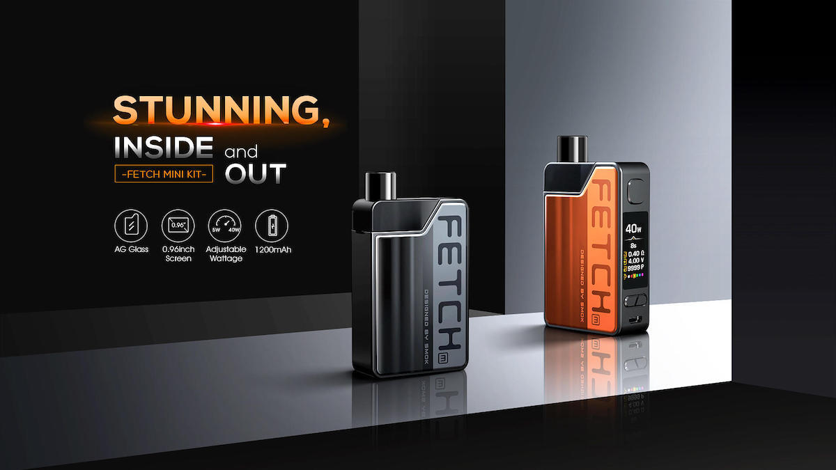SMOK Fetch Mini 40W Pod Kit Banner