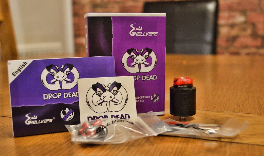 Drop Dead RDA by Hellvape Package